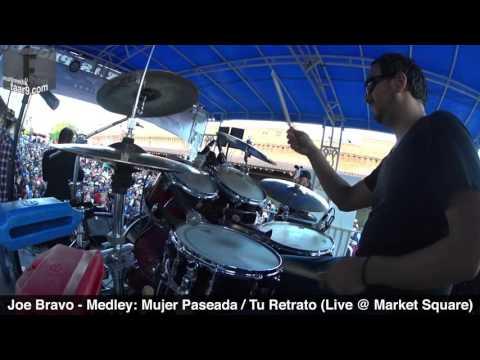 Joe Bravo - Mujer Paseada / Tu Retrato (Live @ Tejano Music Awards Fan Fair 2016) - Drum Cam