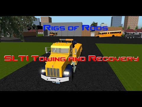 Rigs Of Rods - SLTI Towing And Recovery (2 School Buses)