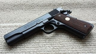 Tokyo Marui Colt 1911 MkIV Series 70 Review [Airsoft]