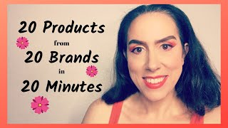 20 Products From 20 Brands in 20 Minutes