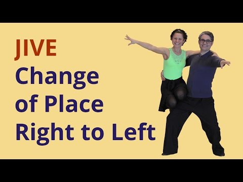 Want to learn Jive? Change of Place Right to Left
