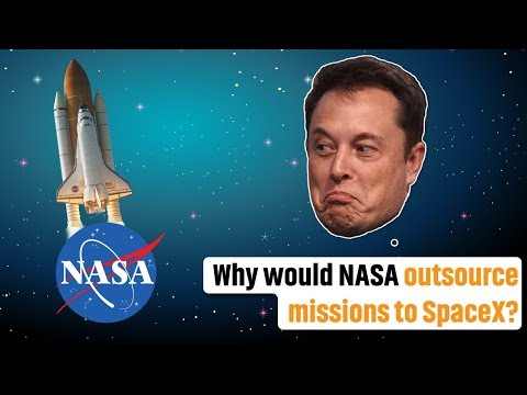 Why would NASA outsource missions to SpaceX? | Peter Ward