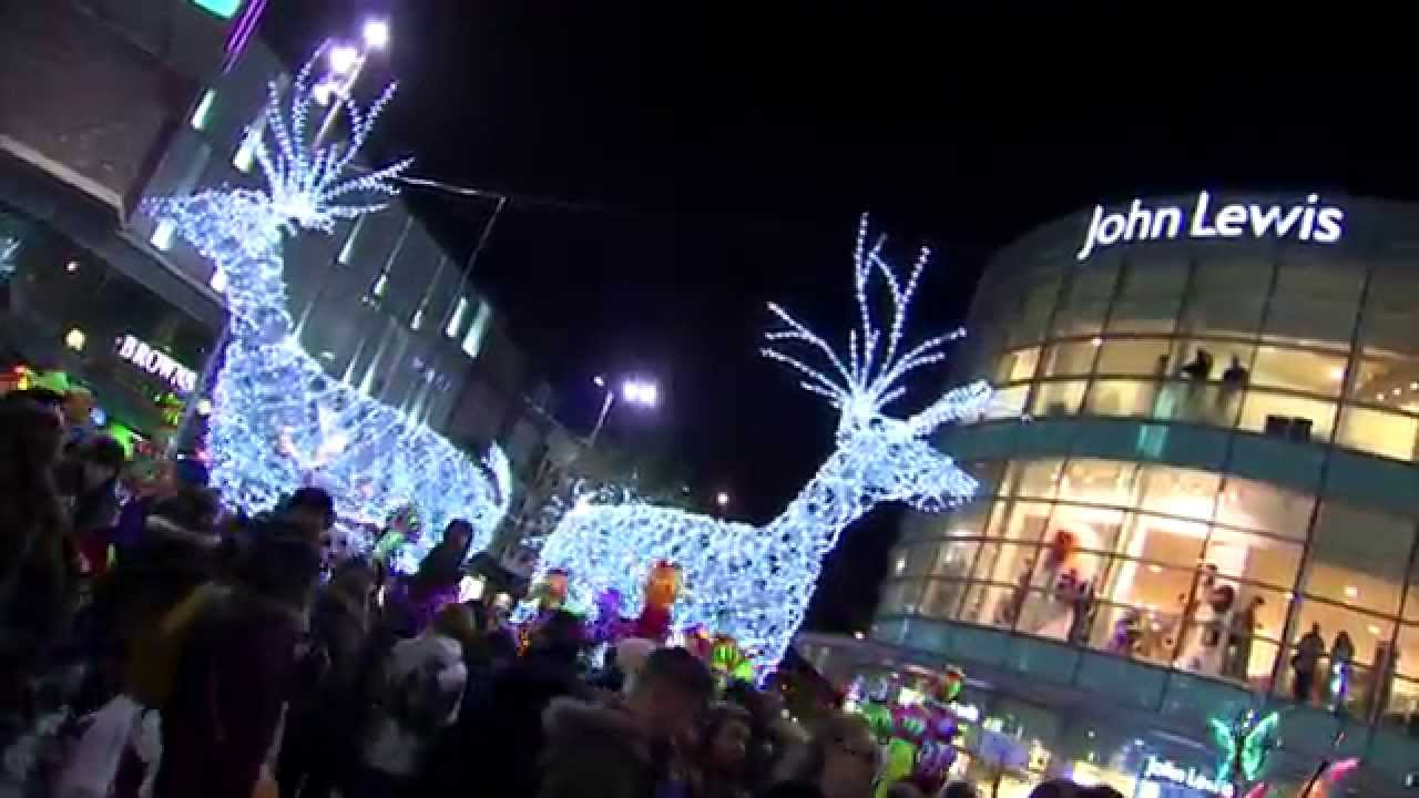 Liverpool ONE Christmas Launch - YouTube