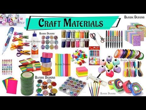 Craft stationery items, craft materials, Craft materials list, Stationery items list, Stationery set