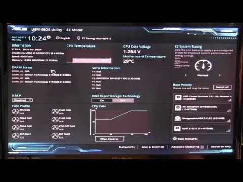 HOW TO UPDATE BIOS ON ASUS LAPTOP FAST AND EASY RAM AND... | Doovi