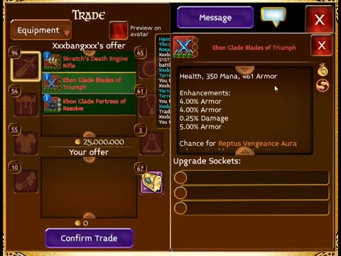 Trust Tests And Scamming In Arcane Legends
