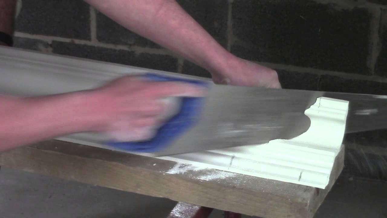Plaster Coving Installation How To Cut An Internal Mitre