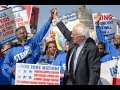 Study: Sanders Living Wage Bill Will Help 20 Million Workers
