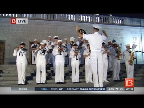 Navy Week kicks off in Indianapolis - Navy Fleet Forces band