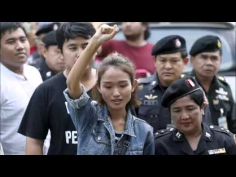 Thai authorities arrest four activists over attempted protest