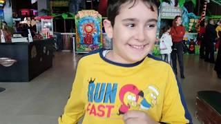 Buğra Oyun Alanında. Fun Playground for Kids