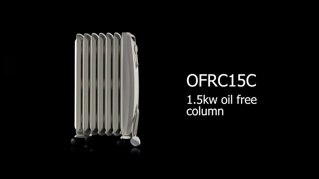 ff5e2a9e4e0 Dimplex Oil Free Electric Radiator 1.5kW With Choice of Heat   Thermostat