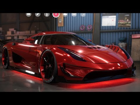 Need For Speed: Payback – Koenigsegg Regera – Customize | Tuning Car (PC HD) [1080p60FPS]