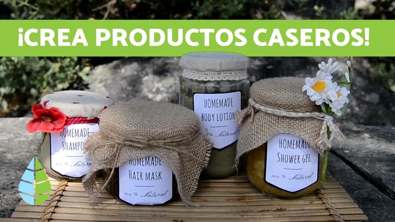3 DIY de COSMÉTICA NATURAL 🧴🌿 (Crema Hidratante, Desodorante y Gel de Aloe Vera)