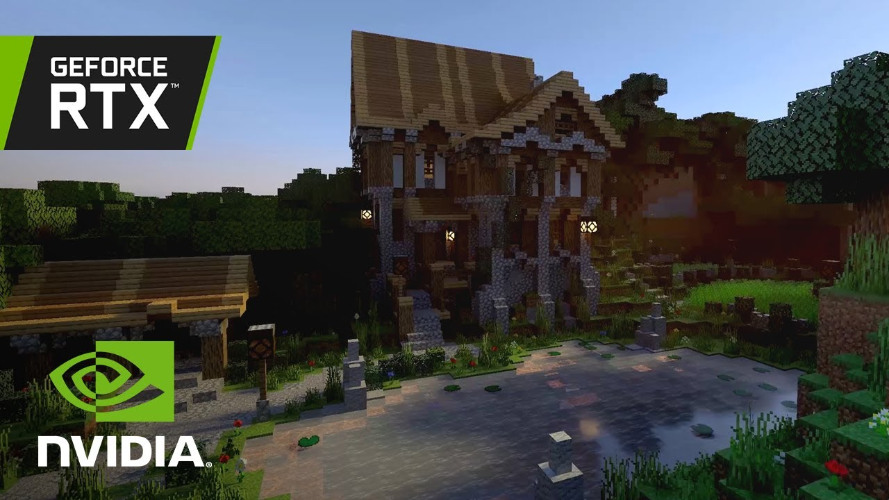 How Minecraft Will Look Like With RTX Ray Tracing