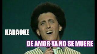 karaoke de amor ya no se muere gianni bella
