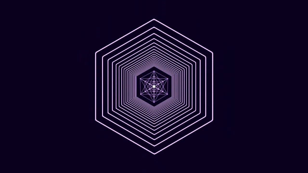 geometric motion graphic youtube