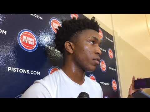Pistons' Stanley Johnson on his injury and Stan Van Gundy's defense of player protests
