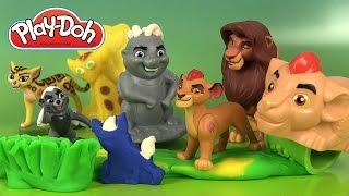 Pâte à Modeler Play Doh Garde du Roi Lion Kion et ses amis