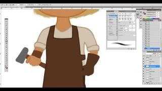 Sepa joonistamine / Drawing blacksmith