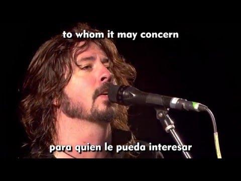 "Foo Fighters - ""Walk"" (lyrics-subtitulado)"