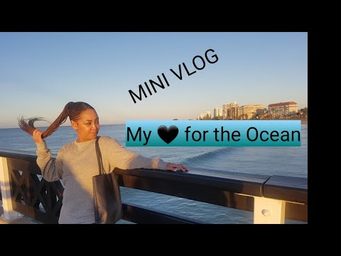MINI VLOG: Quick trip & love for the Ocean | SOUTH AFRICAN YOUTUBER