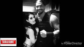 Allah song  Jass Manak vs Roman Reigns  Paige