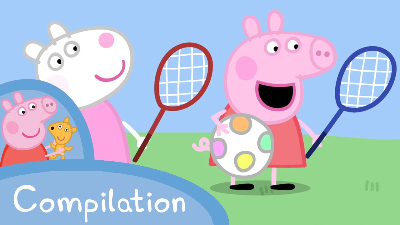 Peppa Pig Official Channel Peppa Pig S Sports Compilation