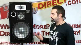 PA DJ Passive Loudspeakers 12