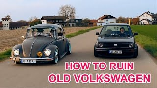 VW Käfer Ruinieren ¦ Rolling Shots ¦ Lowlife VLog