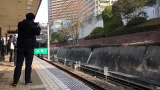 60fps【神戸市営地下鉄6000形 普通/谷上(S01)行き】西神中央駅入線
