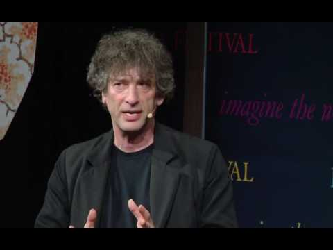 Hay Festival 2017: Neil Gaiman and Stephen Fry  Myth Makers
