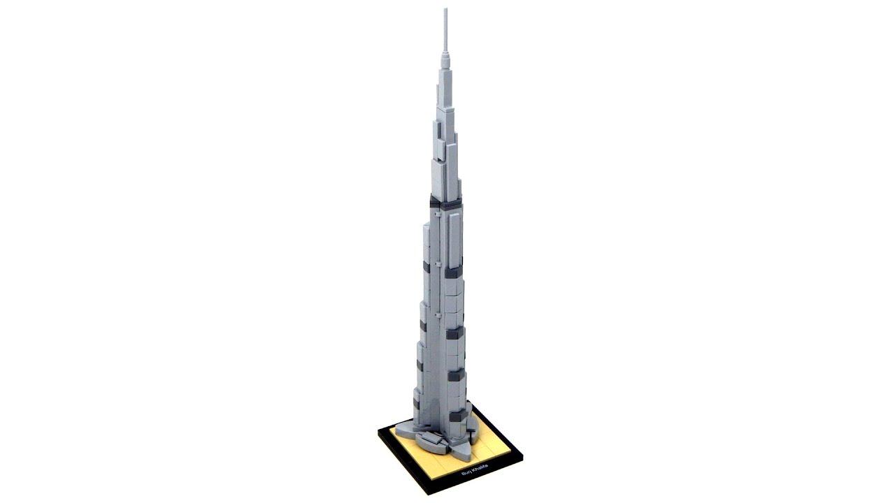 How To Build The Burj Khalifa With Legos
