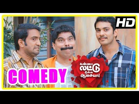 Kanna Laddu Thinna Aasaiya Comedy Scenes | Part 1 | Santhanam | Powerstar Srinivasan | VTV Ganesh