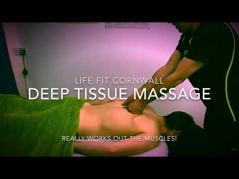 Deep Tissue Massage with Paul at LIFE FIT CORNWALL
