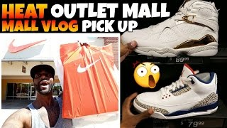STEALS & HEAT AT THE NIKE OUTLET MALL VLOG PICK UP