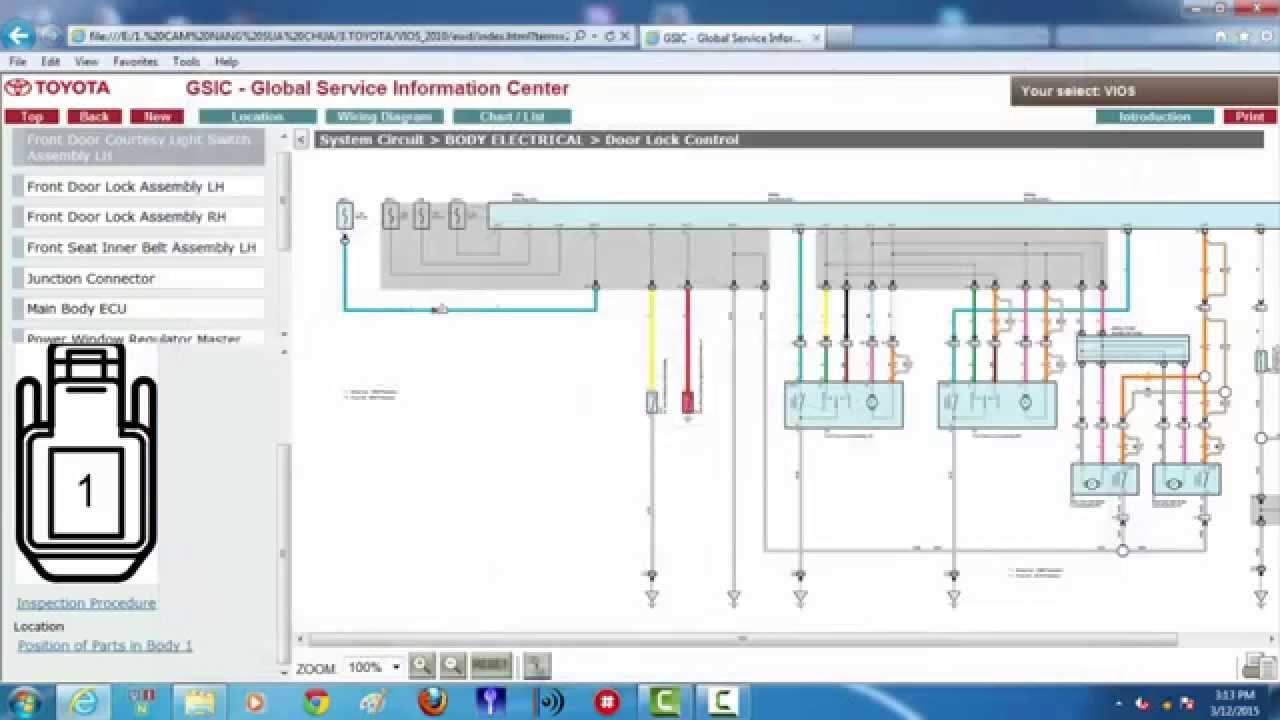 Hướng dẫn sử dụng cẩm nang sửa chữa Toyota, sơ đồ mạch điện Vios 2010
