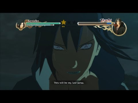 Naruto Ninja Storm 2 Trilogy PC MOD Walkthrough Part 16 60 FPS - Rinnegan Sasuke vs Edo Itachi