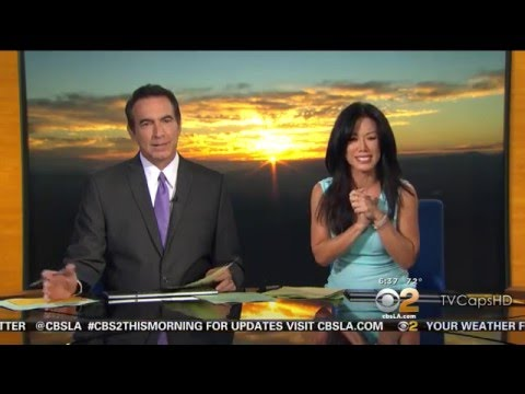 Sharon Tay 2015/09/21 CBS2 Los Angeles HD