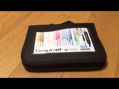 Présentation du pack Manga-Color par Graph'it + impréssion.