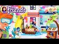LEGO Friends Lighthouse Rescue Center Set Build Silly Play