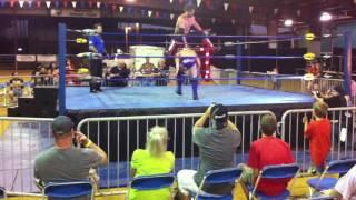aj styles vs steve anthony nwa summer clash iwgp heavyweight championship