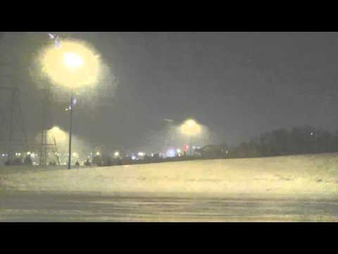 Cleveland Ohio Snow Blizzard