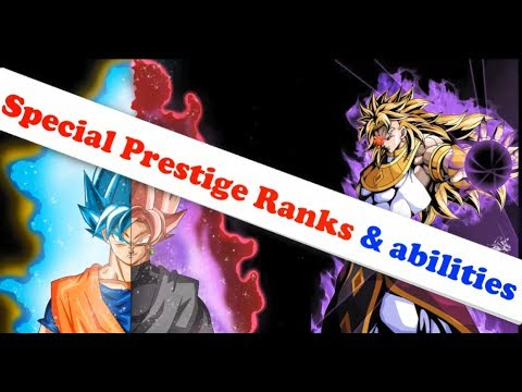 "Special Prestige Ranks (abilities) ""Suggest"" 