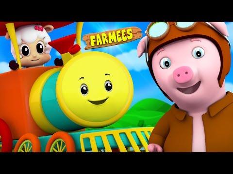 Rig A Jig Jig   Nursery Rhymes   Kids Songs   Children Rhymes by Farmees S02E77