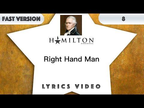 8 episode: Hamilton - Right Hand Man [Music Lyrics] - 3x faster