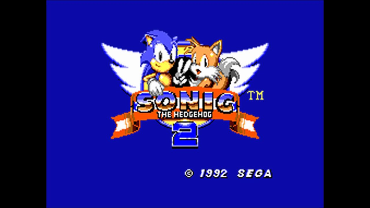 Sonic The Hedgehog 2 Master System Game Gear Music