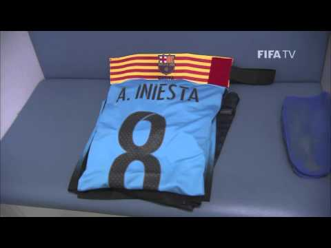 Barcelona Dressing Room - FIFA Club World Cup Japan 2015