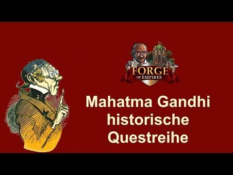 FoETipps: Mahatma Gandhi Questreihe in Forge of Empires (deutsch)