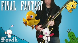 "Final Fantasy (I to VI) - ""Battle Theme Medley"" 【Metal Guitar Cover】 by Ferdk"